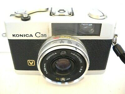 **1960`s KONICA C35V 35mm VIEWFINDER FILM CAMERA VERY GOOD CONDITION**
