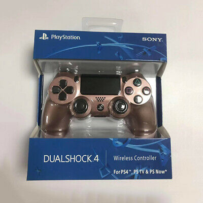 Rose Gold PS4 Dualshock Bluetooth Wireless Gamepad Controller For Play Station 4