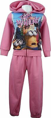 Despicable Me Minions Girls Tracksuit / Jogging Set Pink-6 Years / 116 cm
