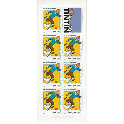 Bande Carnet BC3305 - 2000 - Fête du Timbre  - TINTIN - Neuf** Luxe