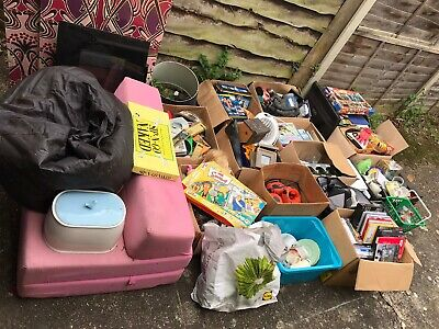 JOBLOT 1 Carboot  Garage Clearance Bric-A-Brac Toys Etc Pictures Tiles