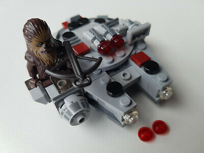 Lego Star Wars Millennium Falcon 'Microfighter' + Chewbacca minifigure (75193)