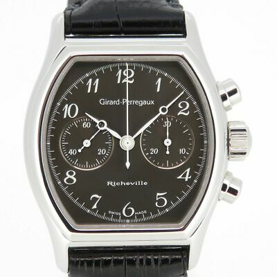 Girard-Perregaux Richeville 2710 Hand winding Charcoal Gray Stainless 35mm Men's