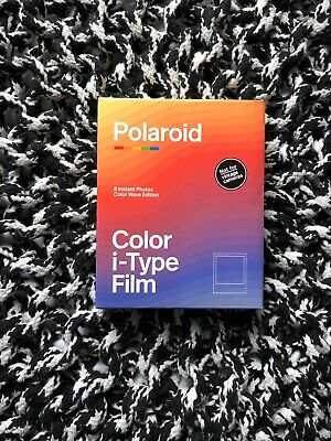 Polaroid Color I-Type Film Color Wave Edition Prod. 01/2020