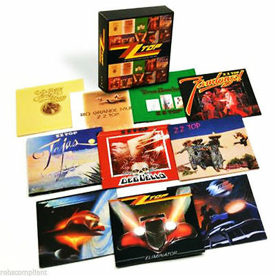 ZZ TOP - The Complete Studio Albums 1970-1990 - Factory Sealed Box Set - 10 CDs