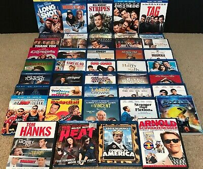 Comedy Blu-Ray & DVD Lot - 50 Movies Included!