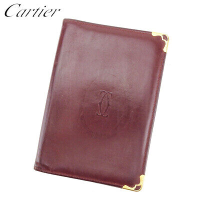 Cartier mini-notebook cover with paper and box