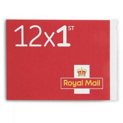 1 Book of 12 × 1st First Class Stamps, Self Adhesive, NEW Unused 1st class post
