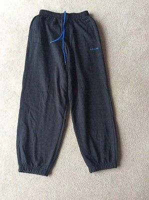 Girls XS Black Donnay Jogging Bottoms