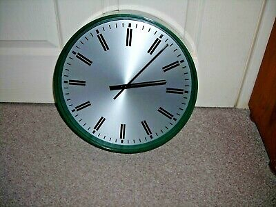 Elliott Manual Wind Wall Clock ~ School, Office, Railway, Spares Repairs Vintage
