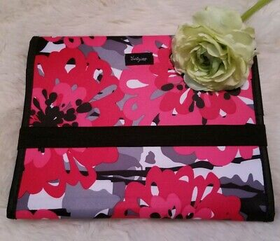 THIRTY ONE Fold It Up Tablet iPad Holder Case Bold Bloom Floral Design Retired