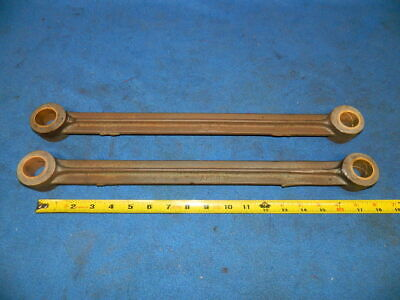 "Pair of Antique Cast Iron Connecting Arms 17"" Long Architectural Salvage"