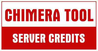 Chimera Tool  Server Credits 100 Credits Pack