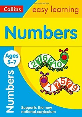 Numbers Ages 5-7: New Edition (Collins Easy Learning KS1) New Paperback Book