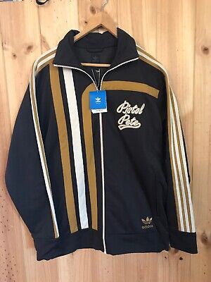 Adidas Pistol Pete Ncaa Louisiana State Rare Jacket Bnwit Brown Vintage Ball Sm
