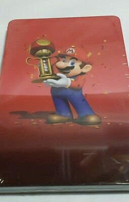 MARIO KART 8 DELUXE STEELBOOK ONLY (Nintendo Switch 2017) NO GAME included