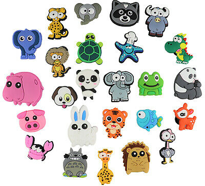 24 pcs Cartoon Shoe Charms for Croc & Bracelet & shoes Wristband, USA SHIP!