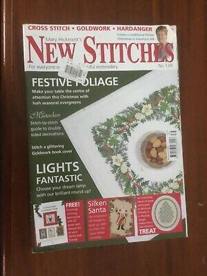 Mary Hickmott's New Stitches Magazine No.139