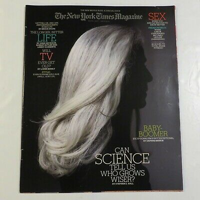 The New York Times Magazine May 2007 Baby-Boomer Sex Science Life TV D9