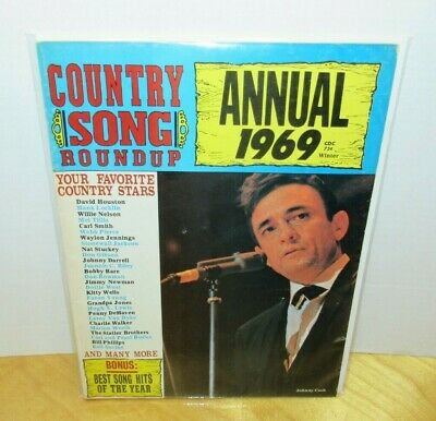 Country Song Roundup Magazine Winter Annual 1969 Johnny Cash