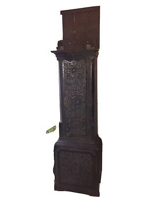 Antique Grandfather Clock Long Case
