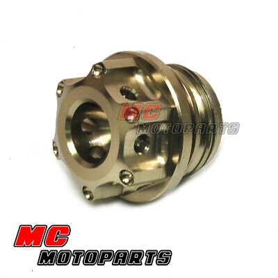 ST664 DUCATI HYPERMOTARD 821 939  SP EVO CNC ALUMINUM GAS CAP MADE IN ITALY!!