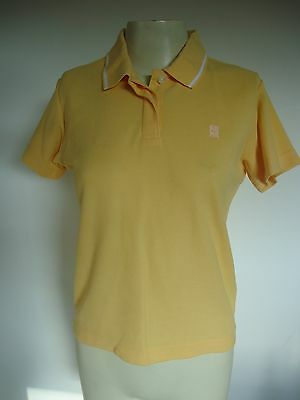 Girls/Ladies Yellow Nike Running/Exercise Polo Top Size Small Height 163 Uk 8