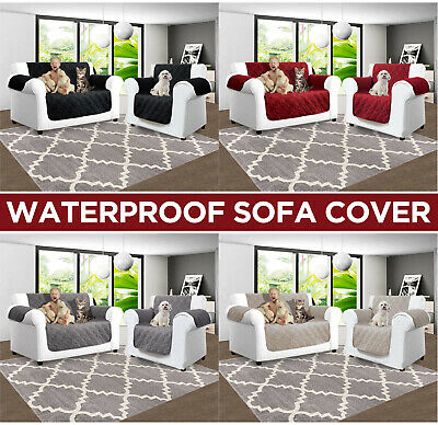 Sofa Covers Quilted Throw Washable Slip Cover Sofa Couch Furniture Pet Protector