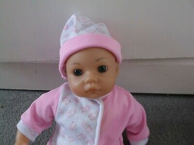 "Realistic Baby Doll! 13"" Sb Lissi Doll With Sucky Lips! Pink Outfit Reborn"