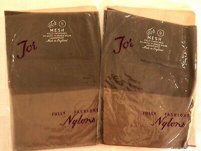 Vintage TOR Seamed Stockings, Fully Fashioned, Size 9, 2 pair NOS in packs