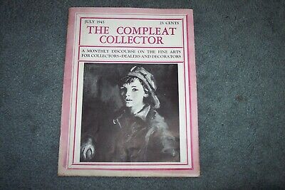The Compleat Collector Magazine July 1945 with Gimbles ad's (B1)