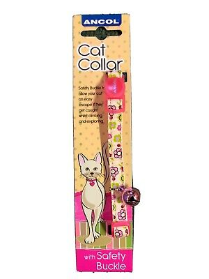 Ancol Cat Collar With Safety Buckle & Bell.