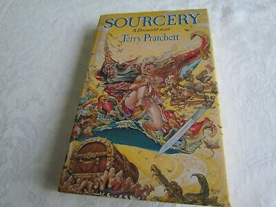 Terry Pratchett Sourcery 1St Edition 2Nd Impression 1988 Hardback