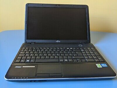 "Fujitsu Lifebook A512 15.6"" Laptop, Core i3 2.4GHz processor, 4GB RAM, 500GB HD"
