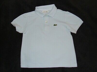 Boys Lacoste Blue Polo age 4 years