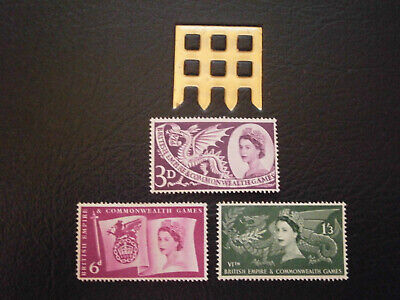 Gb Stamps 1958 Sixth British Empire And Commonwealth Games - Mint Hinged