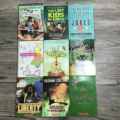 Lot of 9 Chapter Books for Boys and Girls 4th & 5th Grade All New except One