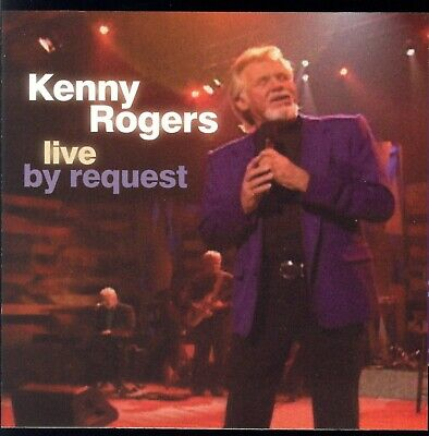 Kenny Rogers - Live By Request - Near Mint Cd Crc Club Copy + Greatest Hits Disc