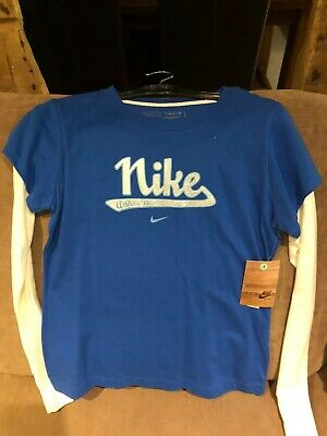 Girls Long Sleeve Nike Top Girls Large Height 152-158cm Bnwt
