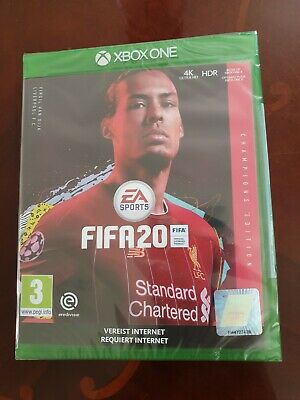 FIFA 20 XBOX ONE CHAMPION EDITION , Brand New and sealed