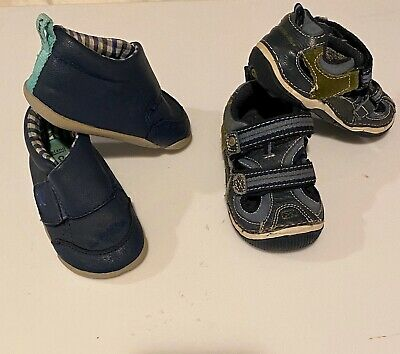 4.0 M US Carters Every Step Boys Stage 2 Stand 6-9 Months Jamison-SB Sneaker Red//Black