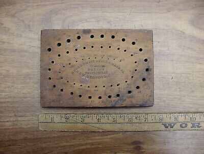 Antique Wooden Drill Index,Morse Twist Drill & Machine Co.,1-60,Nice Condition