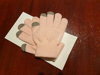 Children Winter Gloves Girls Touch Screen Gloves Knit Gloves Full Fingers NEW