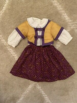 AMERICAN GIRL CECILE'S PARLOR OUTFIT Historical Retired EUC