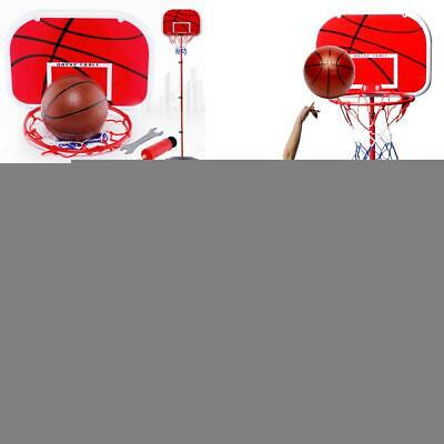 Kids Portable Basketball Hoop Stand System Adjustable Height Net Ring Ball 170cm
