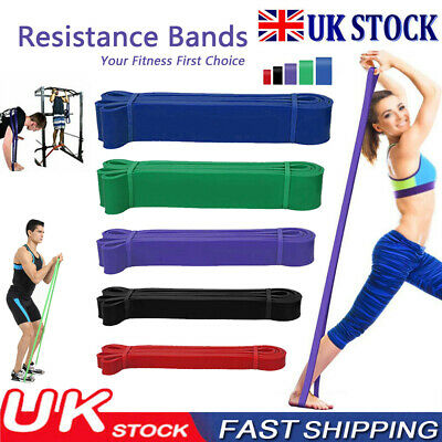 Resistance Bands Glutes Exercise Loop Set Pull Up Workout Men Women Fitness Gym