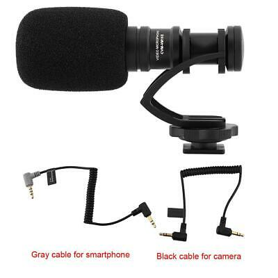 COMICA CVM-VM10II Mini Cardioid Directional Video Microphone for Action Camera _