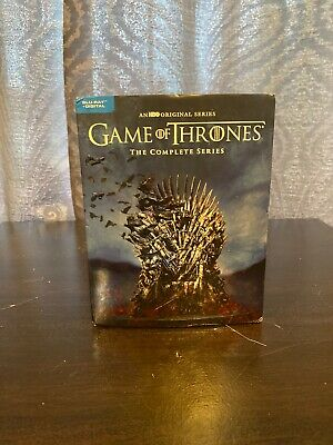 HBO Game Of Thrones The Complete Series Seasons 1-8 GOT Blu-Ray + Digital NEW!