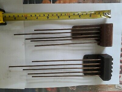 Two Antique Mantel clock Spring chimes