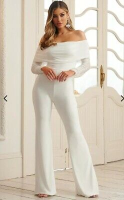 CLUB L LONDON ruched jumpsuit size 10 brand new with tags RRP £40